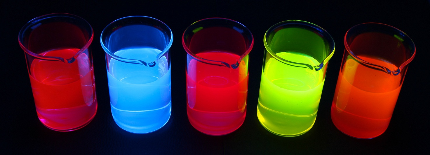 Colorant fluorescent alimentaire