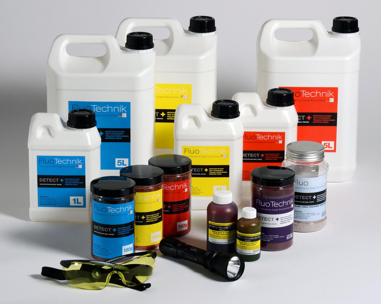 colorant fluorescent de traage en poudre violet pour la recherche de fuite deau et test dtanchit leau - Colorant Fuite Piscine